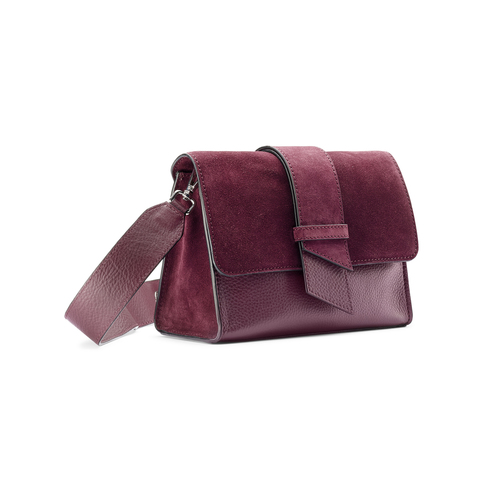 City bag in pelle bata, rosso, 964-5266 - 13