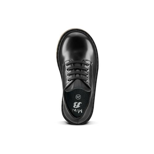Scarpe allacciate bimbo mini-b, nero, 211-6186 - 15