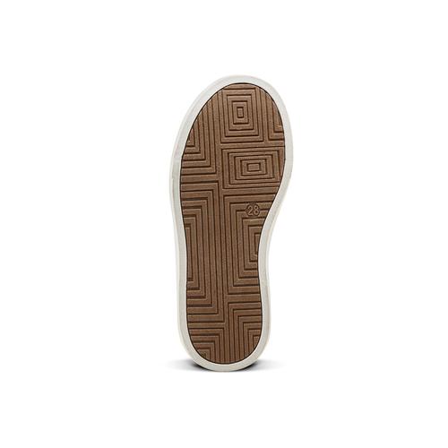 Sneakers alte da bambino mini-b, giallo, 291-8172 - 17
