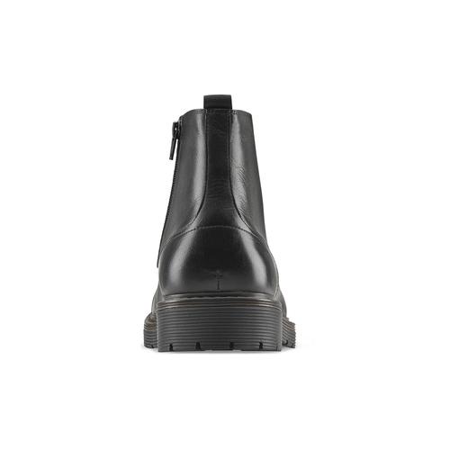 Combat boots da uomo bata, nero, 894-6728 - 16