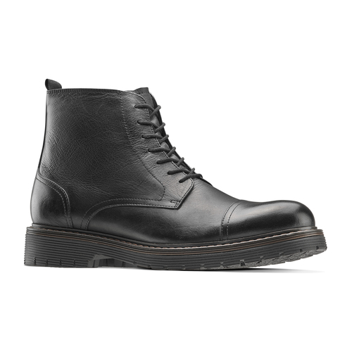 Combat boots da uomo bata, nero, 894-6728 - 13
