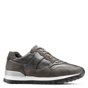 Scarpe casual da uomo north-star, grigio, 841-2738 - 13