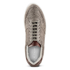 Sneakers in pelle scamosciata da uomo north-star, marrone, 843-3126 - 15