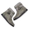Stivaletti bimba con dettaglio in lana mini-b, grigio, 391-2411 - 19