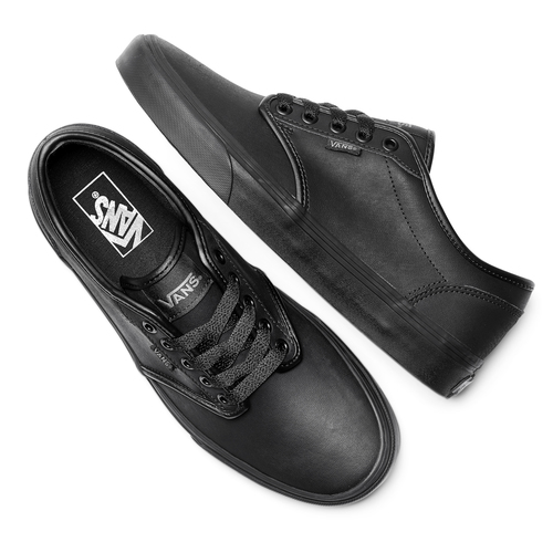 Scarpe in tela Vans uomo vans, nero, 801-6210 - 19