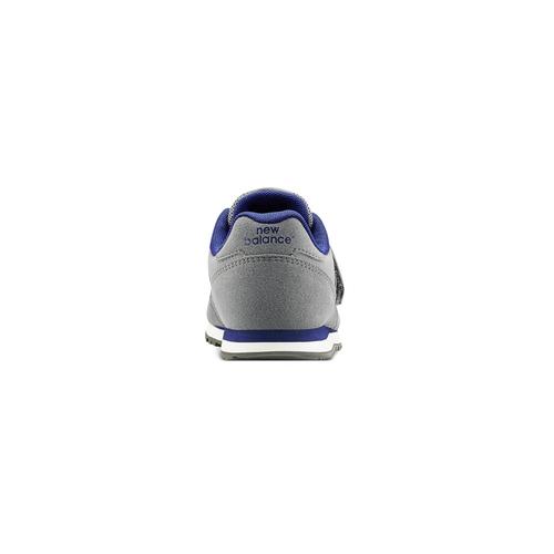 Sneakers da bambino con strap new-balance, grigio, 301-2473 - 16