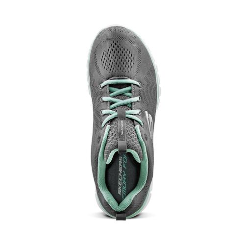Scarpe sportive Skechers skechers, grigio, 509-2318 - 15