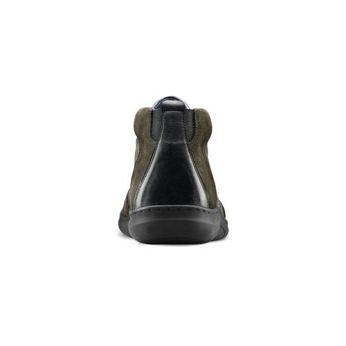Scarpe Comfit uomo in pelle bata-comfit, nero, 894-6710 - 16