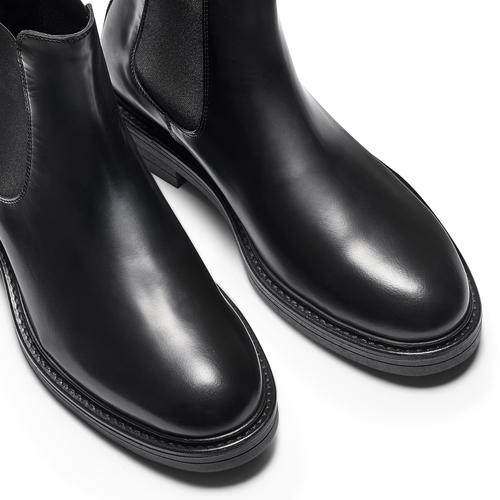 Chelsea Boots in vera pelle bata, nero, 894-6733 - 15