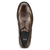 Derby da uomo in pelle bata, marrone, 824-4429 - 15