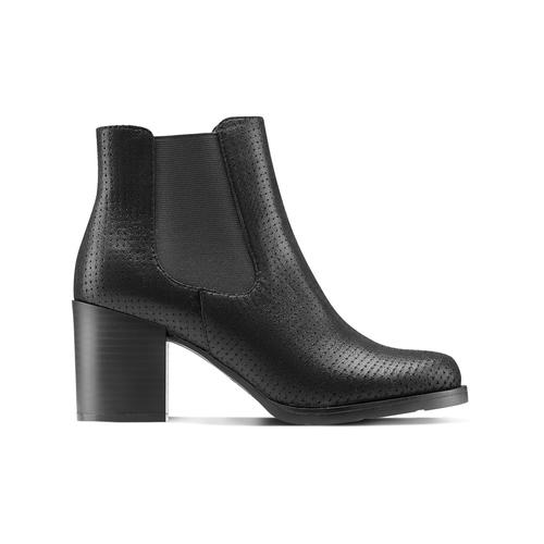 Chelsea Boots con tacco bata, nero, 799-6234 - 26