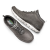 Sneakers Skechers in pelle skechers, nero, grigio, 806-2327 - 19