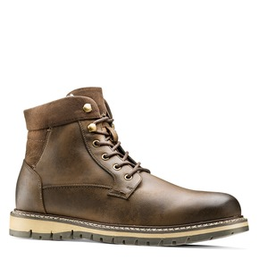 Casual Boots da uomo bata, marrone, 891-4188 - 13