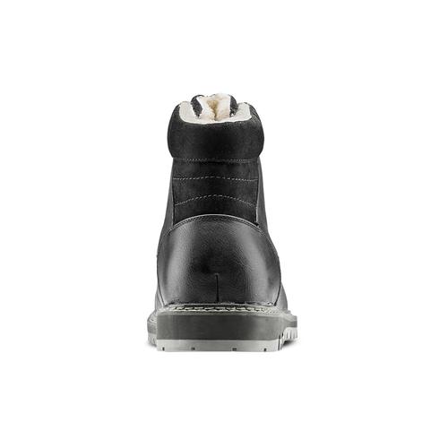 Casual Boots da uomo bata, nero, 891-6188 - 16