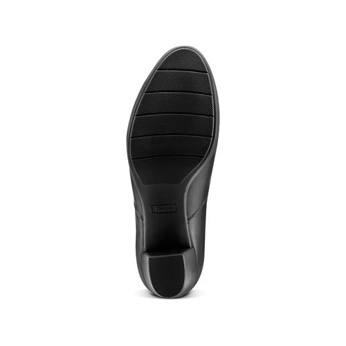 Tronchetti con tacco largo bata, nero, 791-6667 - 17