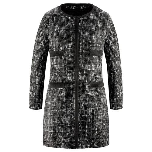 Cappotto lungo da donna bata, nero, 979-6230 - 13