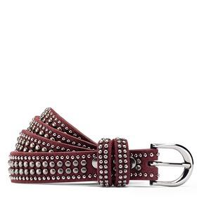 Cintura da donna con borchie bata, rosso, 959-5335 - 13