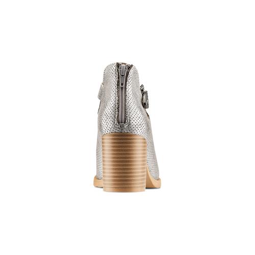 Stivaletti con fibbia bata, argento, 799-2247 - 15