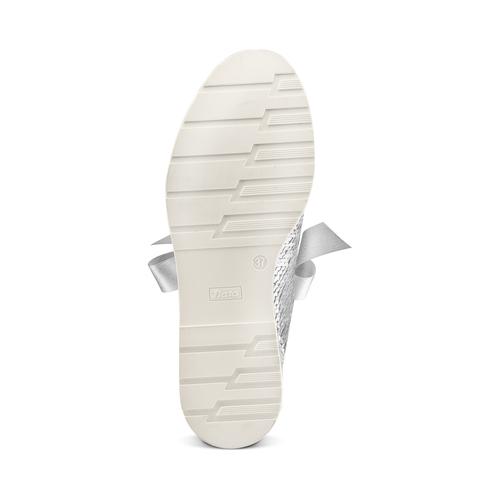 Stringate con paillettes bata, argento, 529-1288 - 19