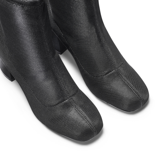 Stivaletti calzino bata, nero, 799-6264 - 17