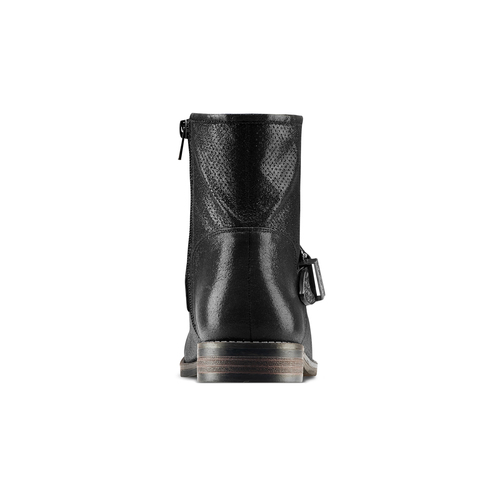 Ankle boots western inspired bata, nero, 599-6691 - 15