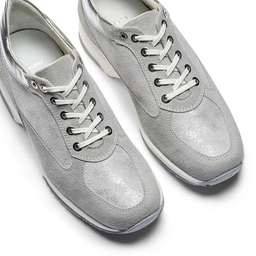 Sneakers alla caviglia da donna bata, grigio, 523-2306 - 26