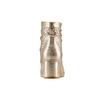 Stivaletti laminati in pelle bata, oro, 694-8229 - 15