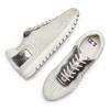 Sneakers con dettagli laminati bata, bianco, 549-1212 - 26
