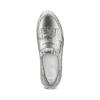 Sneakers Platform con frange bata, argento, 614-1131 - 17