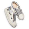 Sneakers da bimba con pietre mini-b, bianco, 321-1304 - 26