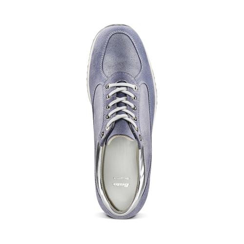 Sneakers casual con lacci bata, 523-9306 - 17