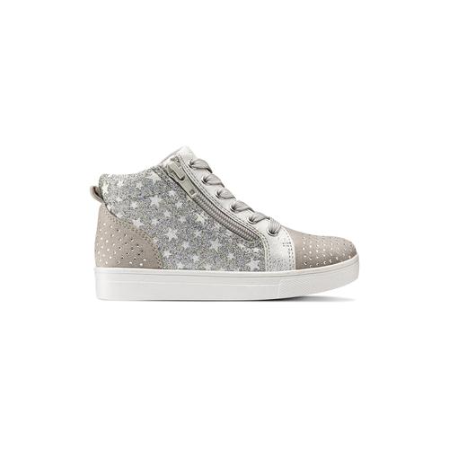 Sneakers da bambina con glitter mini-b, 229-2107 - 26