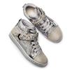 Sneakers alte da bambina mini-b, grigio, 329-2301 - 19