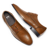 Stringate in pelle da uomo bata, marrone, 824-4357 - 26
