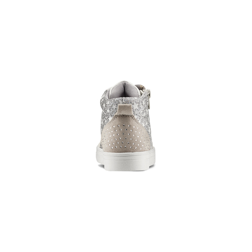 Sneakers da bambina con glitter mini-b, 229-2107 - 16