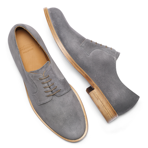 Derby in pelle scamosciata bata-the-shoemaker, 823-2325 - 19