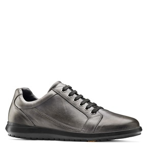 Sneakers Flexible in vera pelle flexible, grigio, 844-3709 - 13