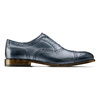 Stringate con lavorazione Brogue bata-the-shoemaker, blu, 824-9337 - 26