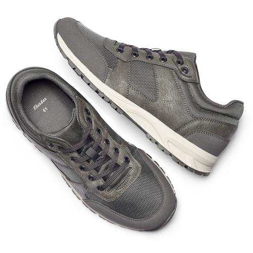 Sneakers da uomo bata, grigio, 841-2151 - 19
