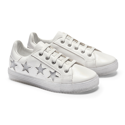 Sneakers Made in Italy da bambina mini-b, bianco, 321-1319 - 19