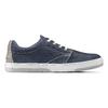 Sneakers in nabuk da uomo bata, blu, 846-9146 - 26