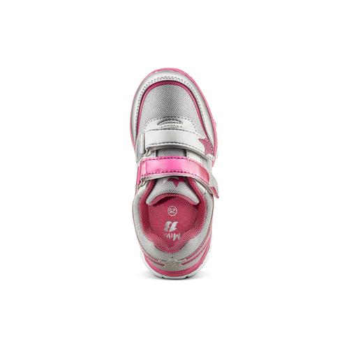 Sneakers rosa con strappi mini-b, 229-1220 - 15
