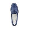 Mocassini da donna in pelle scamosciata bata-touch-me, blu, 513-9181 - 17