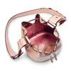 Borsa a secchiello bata, rosa, 961-5230 - 16