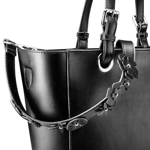 Shopper da donna bata, nero, 961-6232 - 15