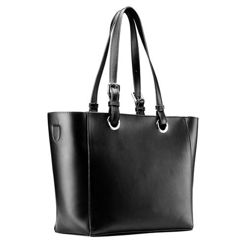 Shopper da donna bata, nero, 961-6232 - 13