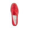 Mocassini da donna in suede bata-touch-me, rosso, 513-5181 - 17