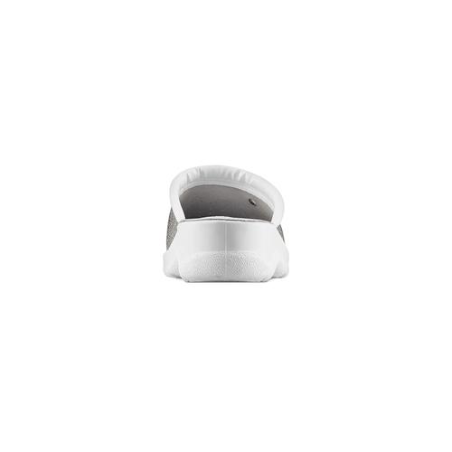 Ciabatte effetto metallizzato bata-comfit, argento, 574-1434 - 15