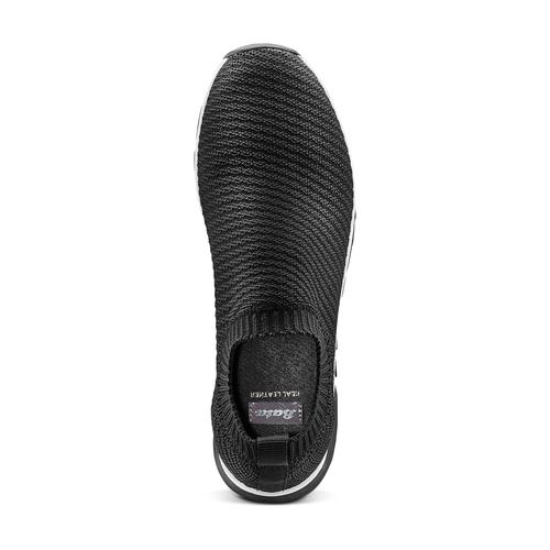 Sneakers senza lacci bata, nero, 539-6113 - 17