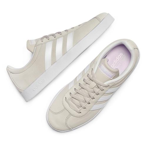 Adidas VL Court adidas, beige, 503-8379 - 26